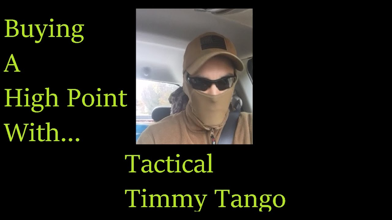 Buys a Hi Point 45 Private Sale Goes WRONG With Tactical Timmy Tango