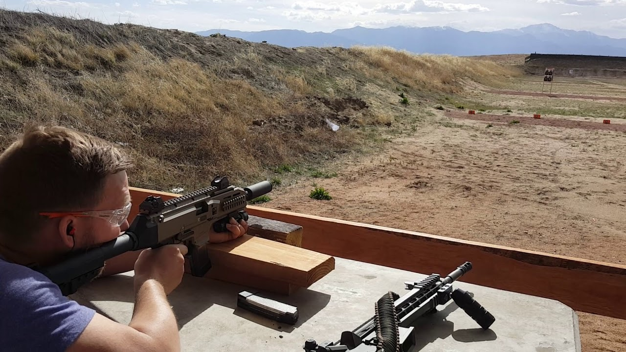 Joshua Shoots the Scorpion EVO III