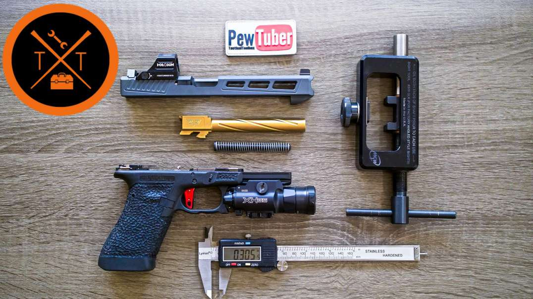 How-To Install Glock Sights // FASTEST & EASIEST WAY😮