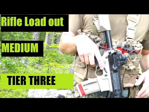 U.S. Marine Corps Veteran's Gear Tactical Load out Medium Weight Rifle  PART THREE