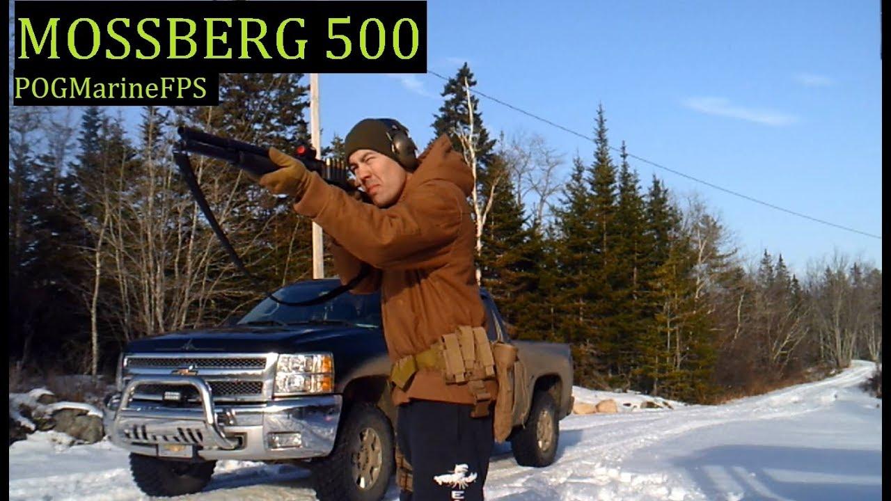 Mossberg 500  - 12 gauge Pump Action Shotgun - LIVE FIRE