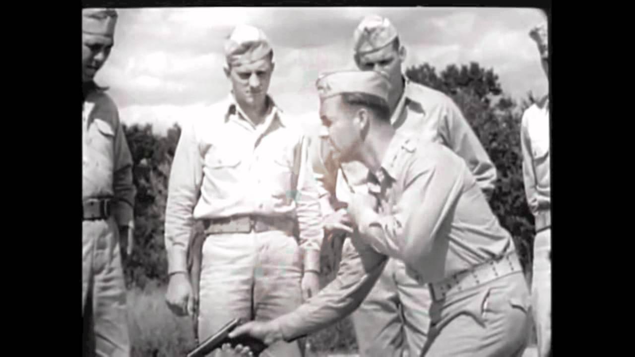 Combat Handgun Training with the 1911 .45ACP - Army Training Film