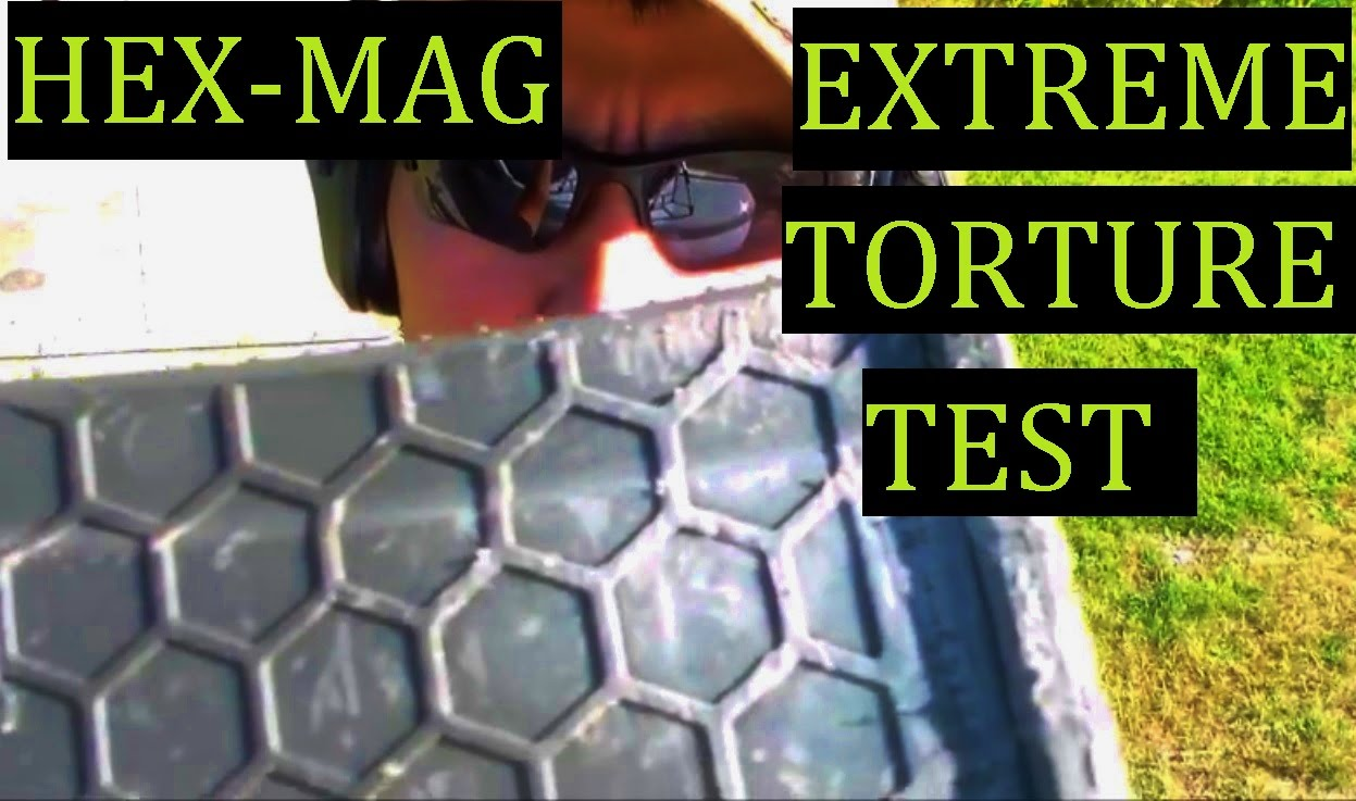 HexMag EXTREME Torture Test Just as good as a Magpul PMAG or Better