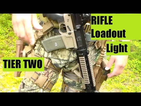 U.S. Marine Corps Veteran's GearTactical Load out Light weight Rifle PART TWO