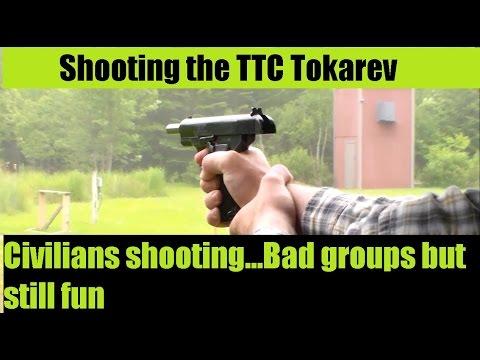 YIKES Civilians Shooting Tokarev TTC Romanian 7 62x25