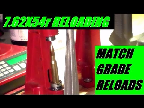 Tips to Reload 7 62x54R Match Grade Ammunition - The Reloading Bench by JSD Arms
