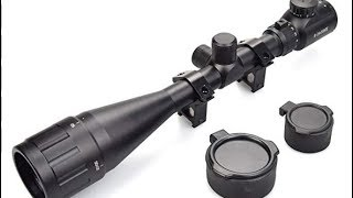 XAegis 6-24x50mm $36.99 rifle scope unboxing and general overview.
