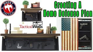 Creating a Home Defense Plan:  Chris with Tactical Walls Joins Us:  #TacticalTuesday 54