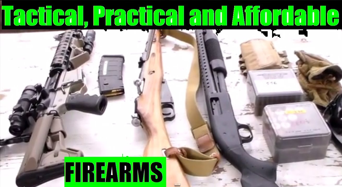 Tactical, Practical and Affordable Firearms?  JSD Arms M44 Mosin Nagant , AR15 , or Shotgun?