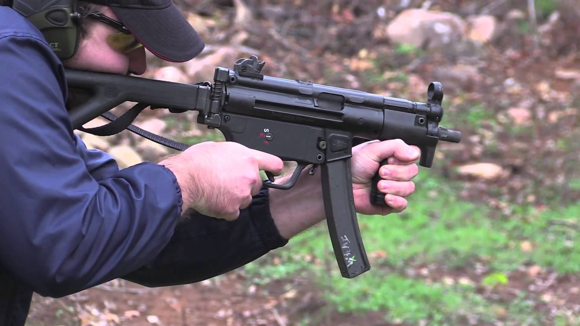 HK MP5 K PDW Full Auto Demonstration and Overview