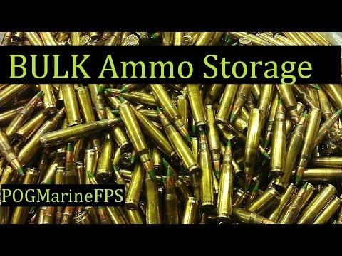 Bulk Ammunition Storage ~ WOW That's alot of AMMO - SHTF - WROL
