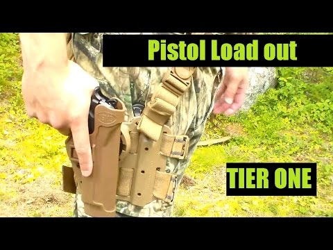 U.S. Marine Corps Veteran's Gear Tactical Load out Pistol  PART ONE Tier 1