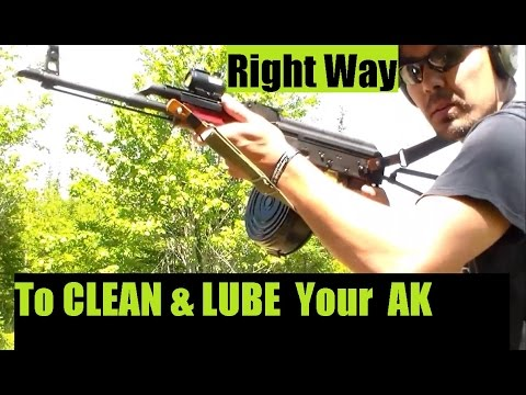 AK Style CLEANING & LUBRICATING Very EASY DIY