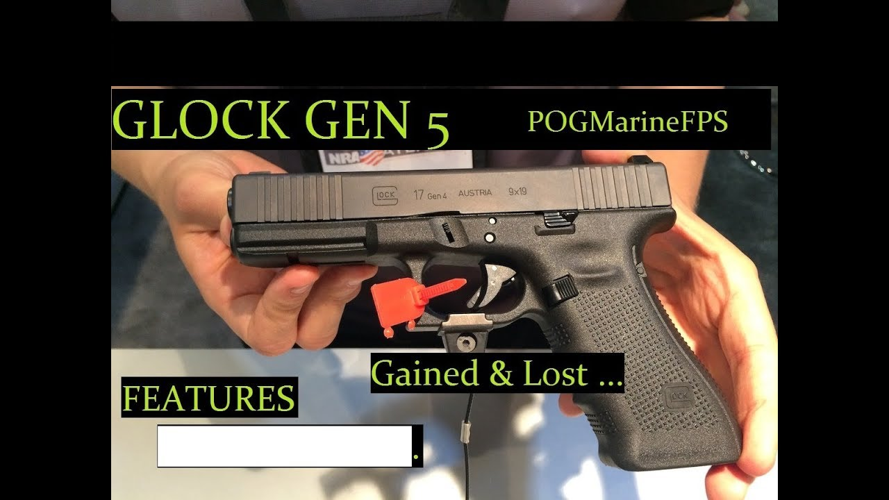 Glock Gen 5 Forgot Gen 4 Features! NEW Handgun from Glock G17 G19