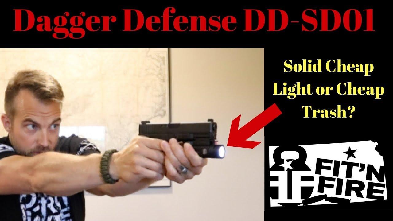 Dagger Defense DD-SD01 - Solid Cheap Light or Cheap Trash?