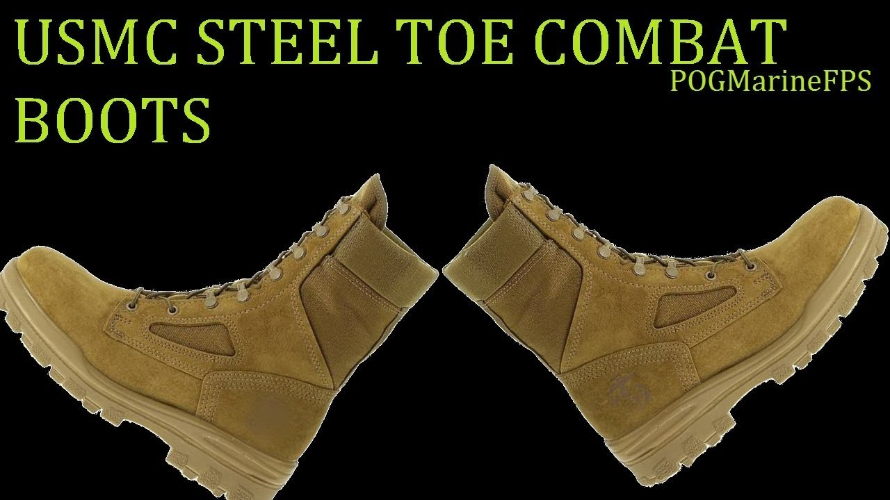 Marine Bates Combat Boots STEEL TOE ~ A Good work Boot? USMC - REVIEW