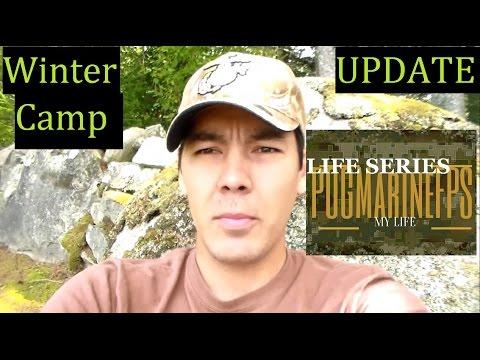 Life Series SHTF Camp Winter Shelter UPDATE Bugout SHTF