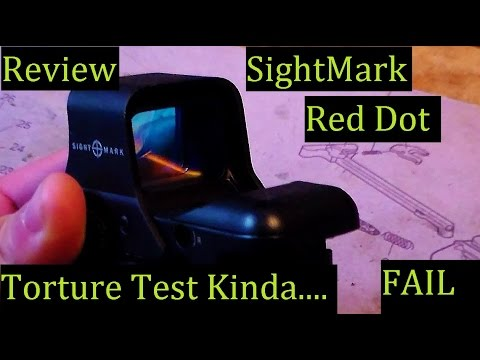 Sightmark Ultra Shot Red Dot Torture Test VS Pipe Wrench & REVIEW - EoTech Worthy?