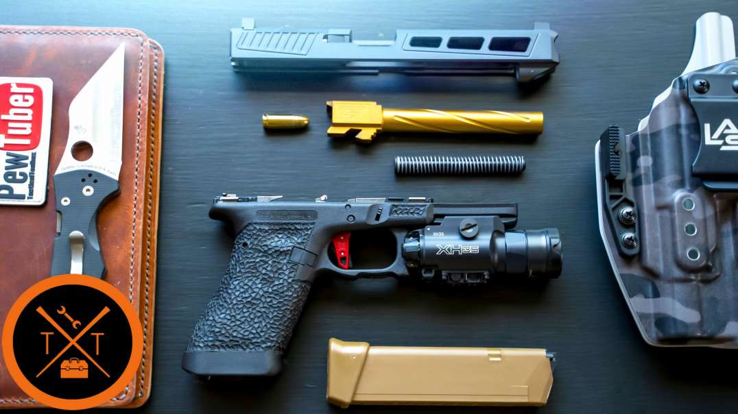 Custom Glock 34 Build: Part 2 // (Where's the Holosun 507C?)