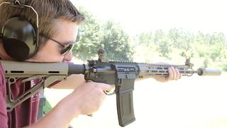 Midwest Industries Lightweight AR-15 & SureFire SOCOM762-MINI