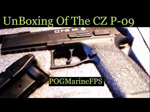 CZ P 09 Handgun  Unboxing The Ultimate 9mm