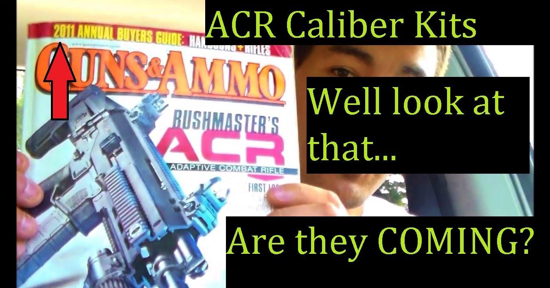 ACR Caliber conversions from Bushmaster & Remington