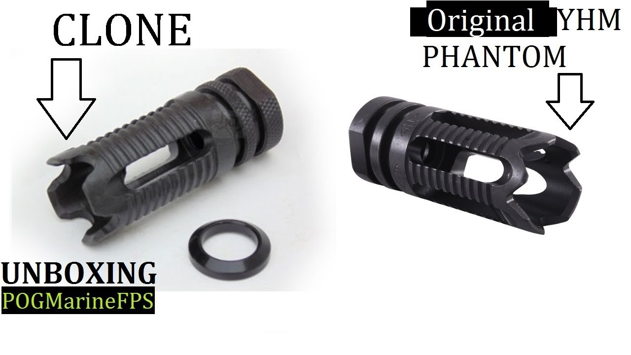 The Phantom YHM Clone Ebay Special Muzzle Brake UNBOXING