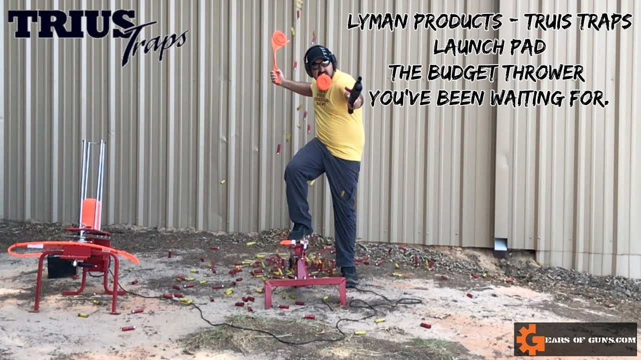 NEW for 2018 - Lyman Products Trius Launch Pad
