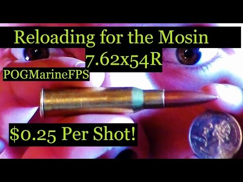 Reloading 30 Caliber For 25 CENTS! - My sources To Affordable Reloading - 7.62x54R