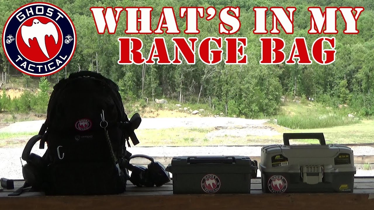 What's In My Range Bag?  Tips and Supplies To Bring To The Range:  Range Day On The Cheap!!!