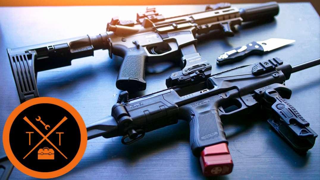 9mm AR PISTOL or GLOCK Carbine Conversion?!😋