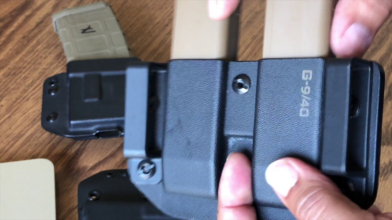 Talon Retention Systems   holster and Mag pouches