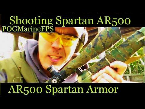 AR-500 Spartan Armor VS 300 WSM Steel Core - Will it Penetrate?