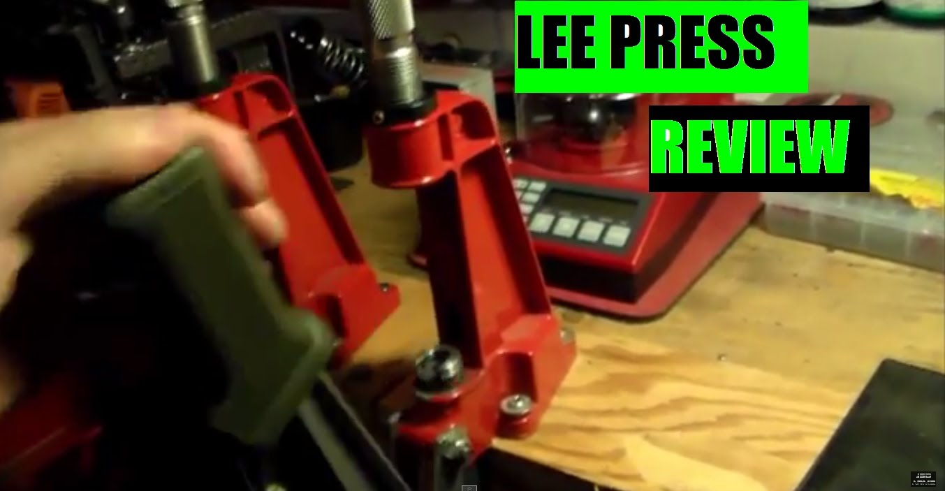 Lee Single Stage Reloading Press Review by JSD Arms- The Reloading Bench