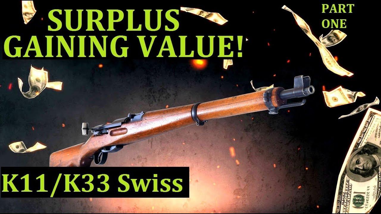 Surplus Rifles PART ONE Gaining MAJOR Value!  the K11 / K31 Swiss 7.5x55