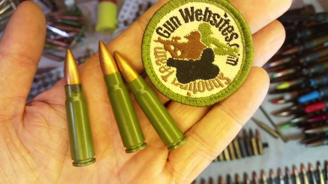 Bullet of the Day: 7.62x39mm Chinese (Green Case)
