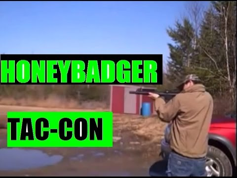JSD Arms Honey Badger Tac-Con three stage Auto