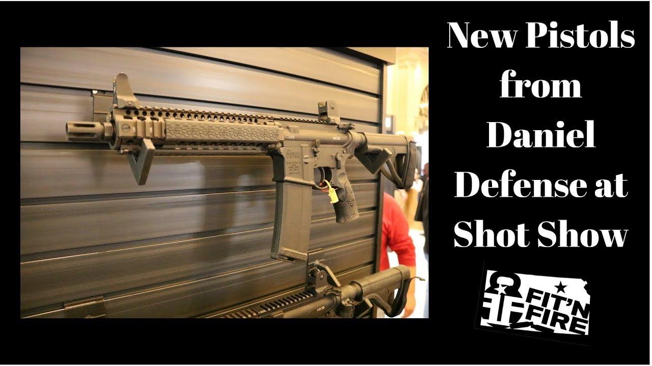 New Pistols from Daniel Defense at Shot Show
