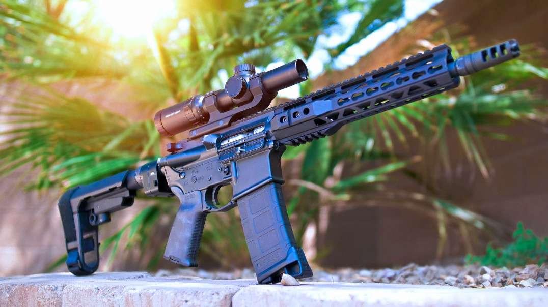Custom 10.5 AR Pistol Build // PART 3