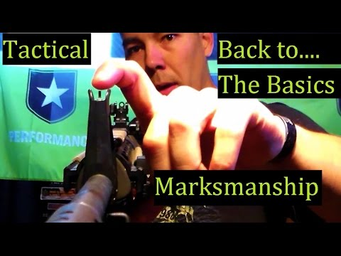 Making a Tactical Decision - Iron Sights to Optics -