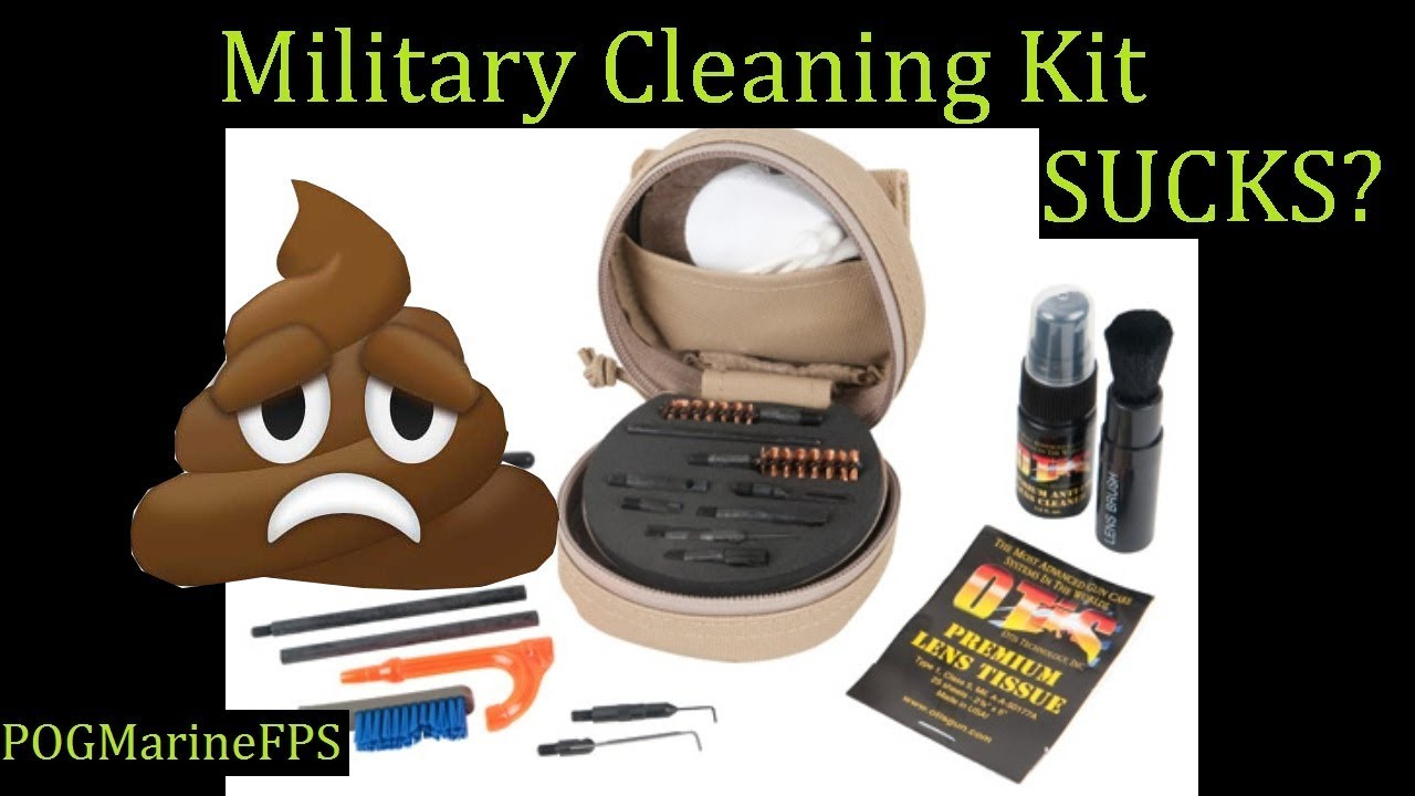 Otis Military Mil-Spec M4 M16 AR-15 Soft Pak Cleaning Kit Over Priced Junk! Review