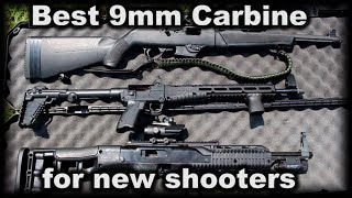 Best 9mm carbine for the new shooter