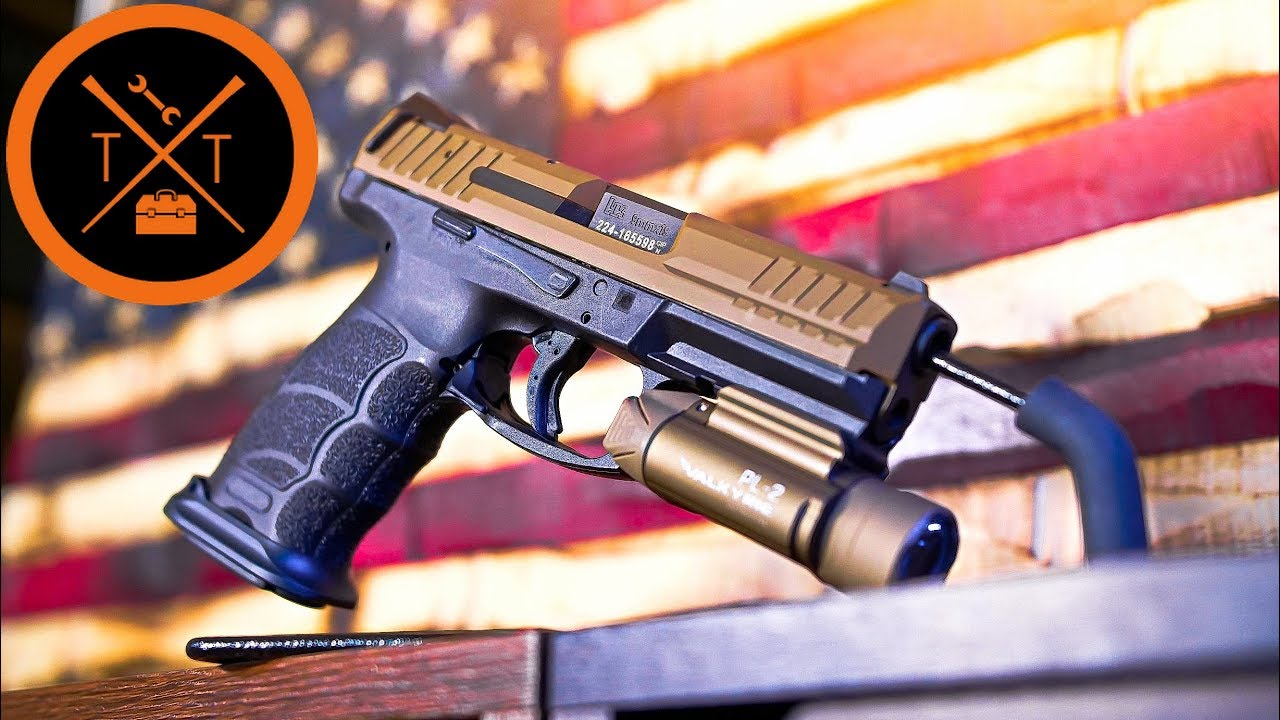 NEW HK VP9 Tactical Mods....I don't like this at all.......🙄