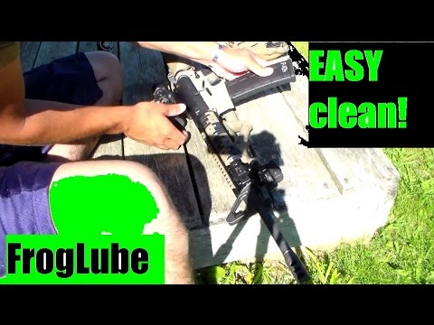 Froglube third time applying - Third times the charm! Ar-15 Rifle Cleaning