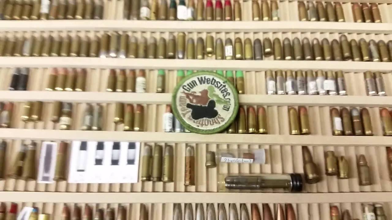 All the Tiny Ammo - Bullet of the Day