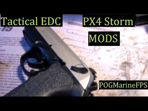 Beretta PX4 Storm Handgun Custom Mods - My EDC CCW