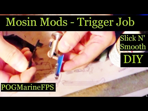 Mosin Mods - Trigger Job - Step by Step DIY Modification
