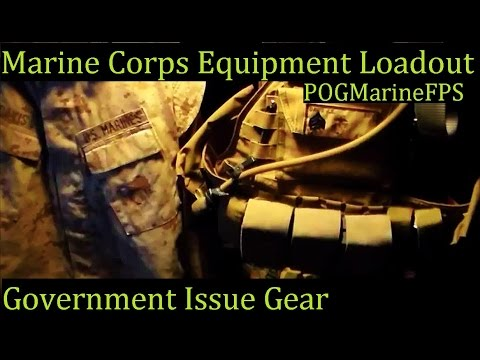 Real U.S.  Marine Corps Gear loadout Not that airsoft crap