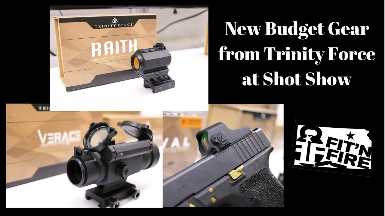 New Budget Gear from Trinity Force at Shot Show