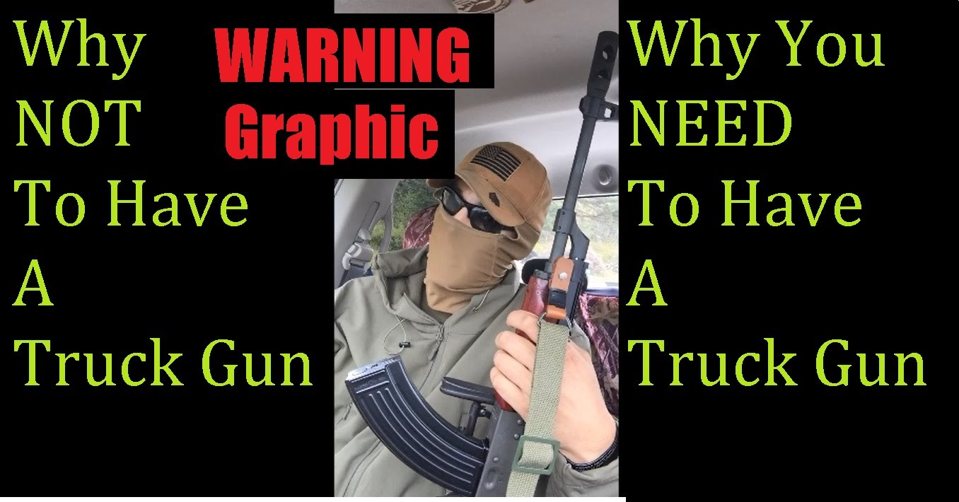 Why to have a Truck Gun Feat Tactical Timmy Tango with his AMD-65 Rifle FOOTAGE